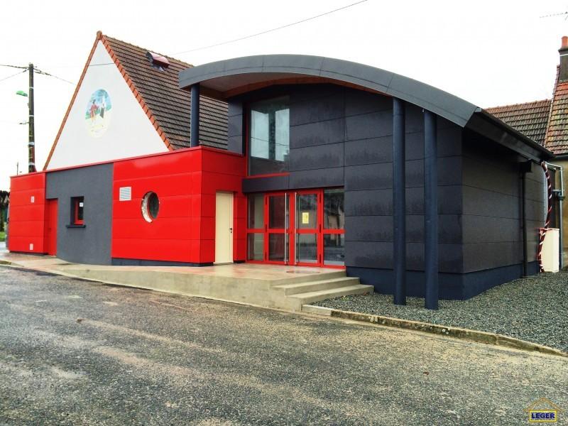 Salle des fêtes à Précy (18) Bardage composite haute densitée.JPG